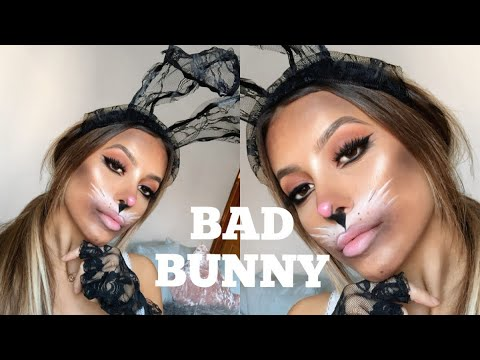 Bunny Halloween Makeup Tutorial Pretty Little Thing Youtube