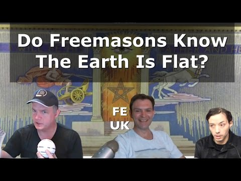 32nd Degree Mason talks about Flat Earth symbolism - SW52 ... |Flat Earth Freemasons Know