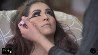 Photoshoot  Asian bridal makeup and hair by farah khan