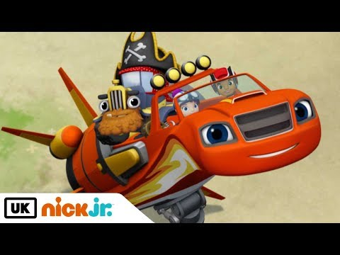 Blaze and the Monster Machines   Treasure Track   Nick Jr. UK