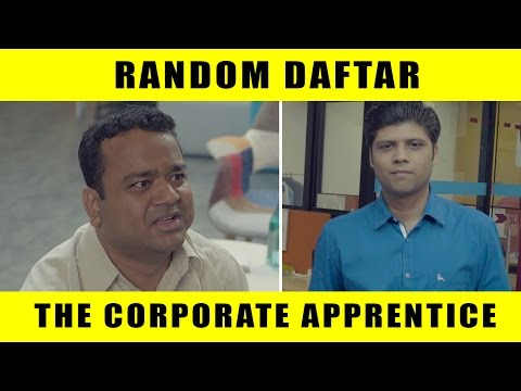 Random Daftar - The Corporate Apprentice #LaughterGames
