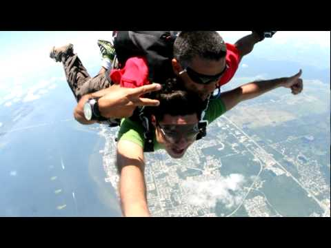 My Sky Dive stills - World's Highest (18000 FT) - Memories