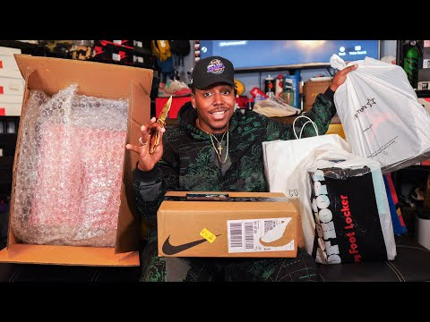 UNBOXING A TON OF DOPE SH*T! MAJOR HEAT! 5 SNEAKER PICKUPS   YOU HAVEN'T SEEN THESE YET 👀