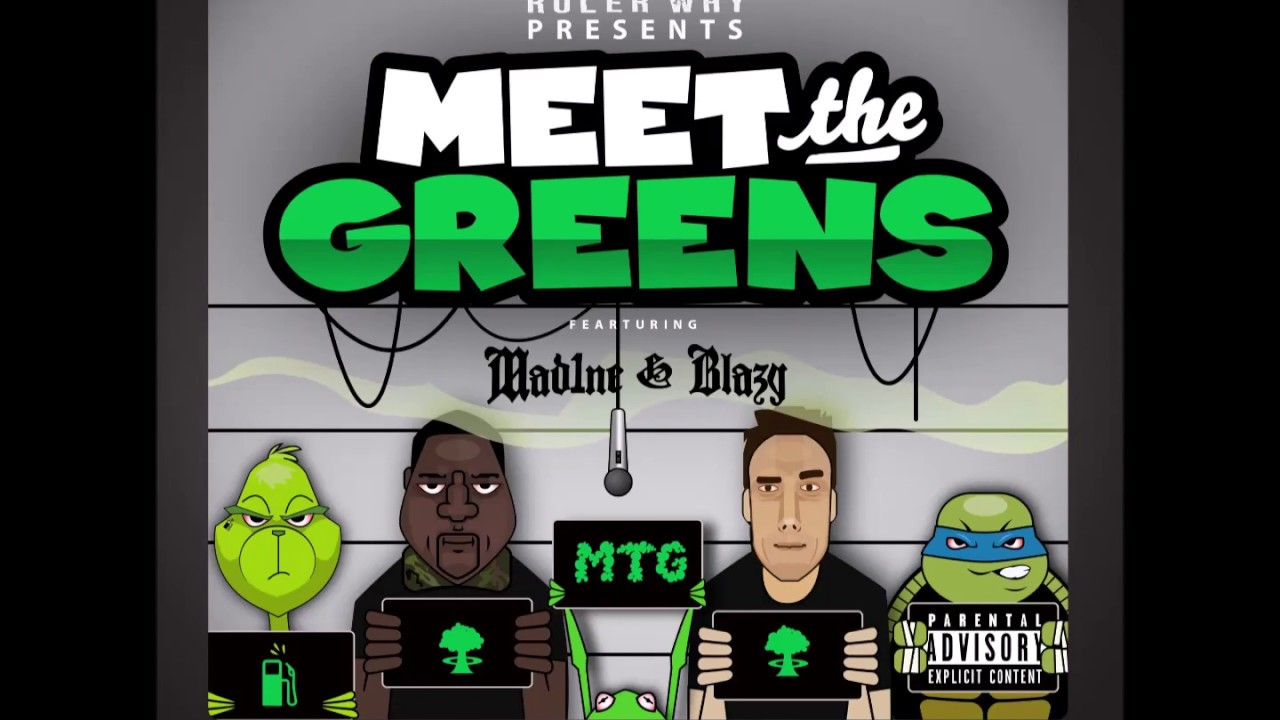 """Meet The Greens """"Gasoline Green Themes"""" Full  ep"""