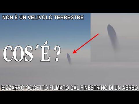AVVISTAMENTO UFO - NON È UN VELIVOLO TERRESTRE