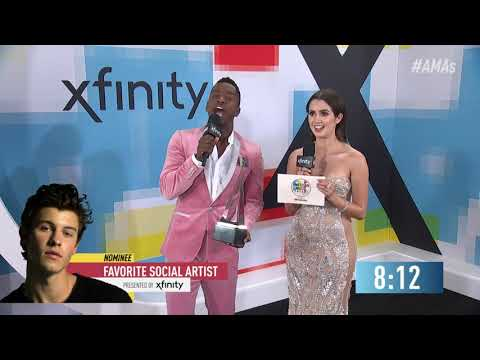 BTS Wins Favorite Social Artist Award Presented by Xfinity - AMAs 2018