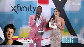 BTS Wins Favorite Social Artist Award Presented by Xfinity - AMAs 2018