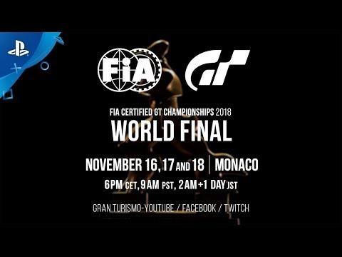 Gran Turismo - Watch the FIA GT World Finals | PS4
