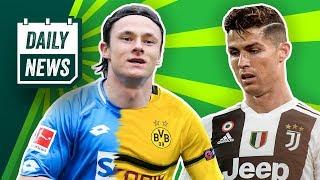 Ajax besiegt Juventus, Messi mit Barcelona weiter! Schulz zum BVB fix? FC Bayern will neuen Trainer?