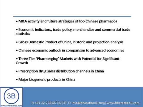 Bharat Book Presents : Pharmaceutical Industry China