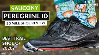 SAUCONY PEREGRINE 10 Shoe Review | Run4Adventure
