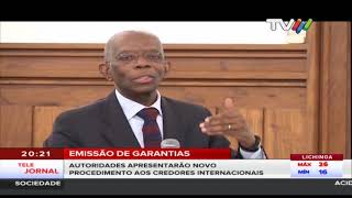 Governo dispõe de aconselhamento de assessores internacionais, no diálogo