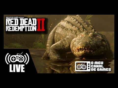 [Live] Red Dead Redemption 2 (Xbox One X) - Pesca E Caça LENDÁRIA SEM SPOILERS AO VIVO #8