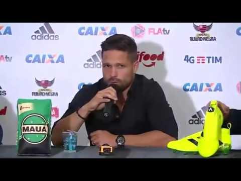 Entrevista coletiva Diego Ribas no Flamengo !