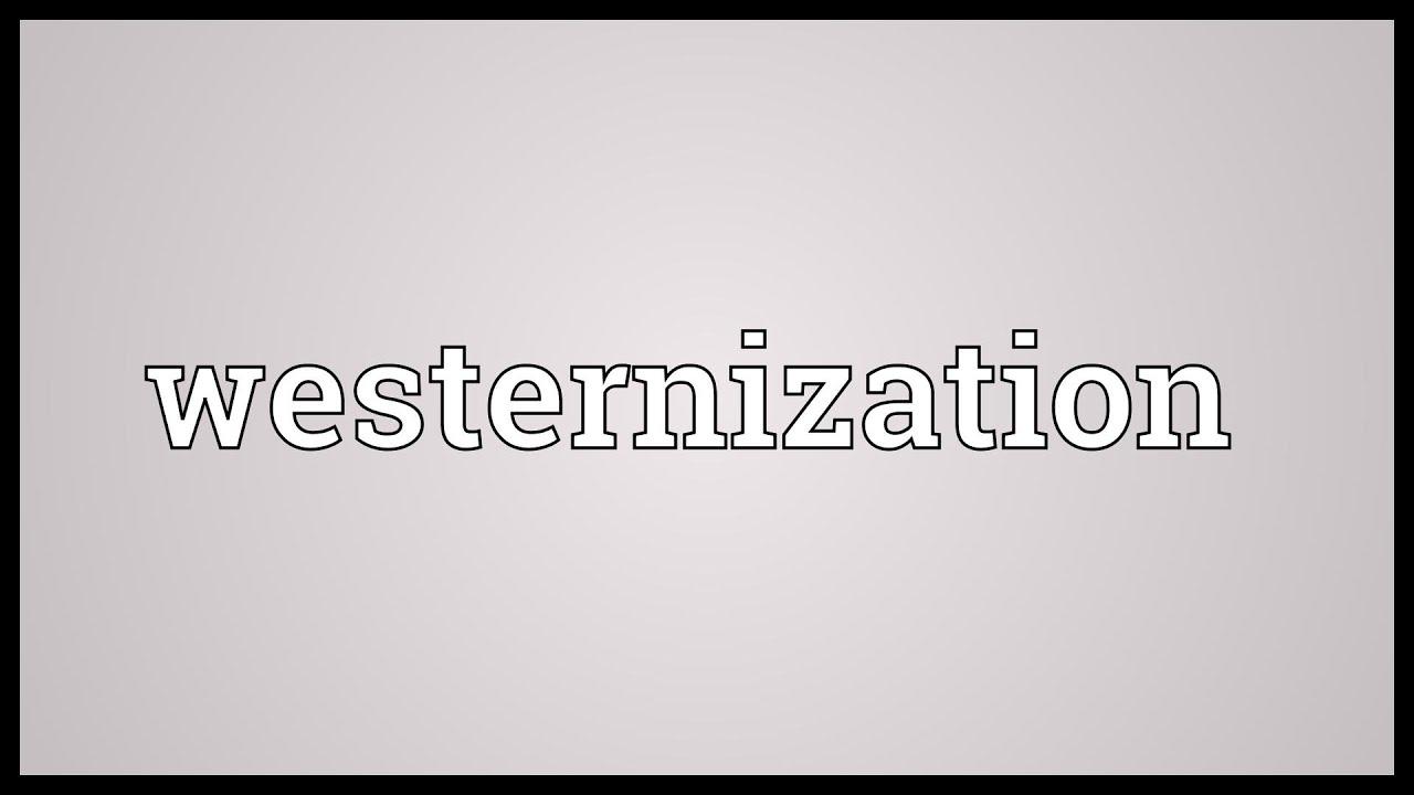 westernization in sociology