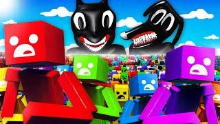 1,000,000 RAGDOLLS vs CARTOON CAT AND CARTOON DOG (Fun With Ragdolls: The Game Funny Gameplay)