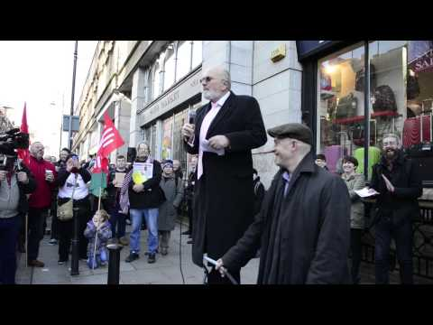 Senator David Norris speaking out against homophobia in Irish Media and Society