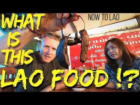 Travel Laos: Driving Vientiane to Vang Vieng Pt1 - Hmong Markets - eating Lao Food - Travel vlog