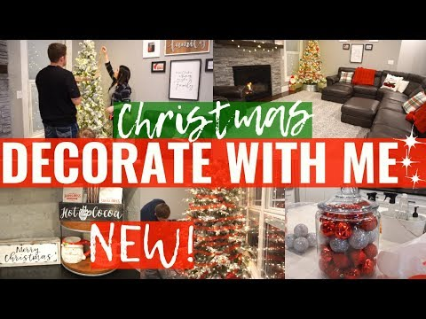 NEW CLEAN and DECORATE With ME For CHRISTMAS 🎄CHRISTMAS DECOR 2019 & HOME TOUR!