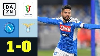 Insigne macht's Immobile vor: SSC Neapel - Lazio Rom 1:0 | Coppa Italia | DAZN