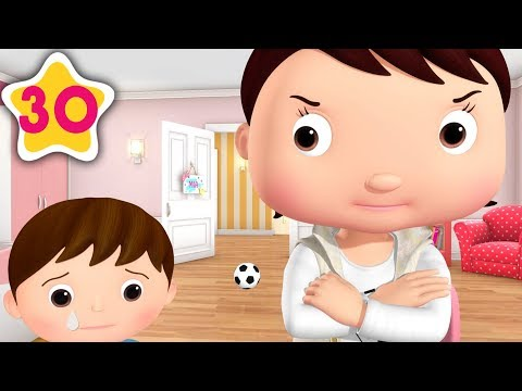 Brothers And Sisters STOP BUGGING   Kids Songs   Little Baby Bum   Moonbug TV After School