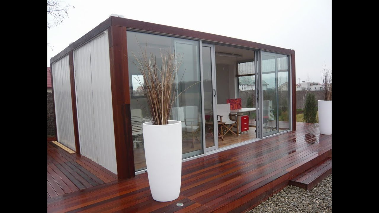 I want to build a container home what does it cost to for A frame house cost