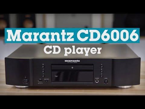Marantz CD6006 CD player | Crutchfield video