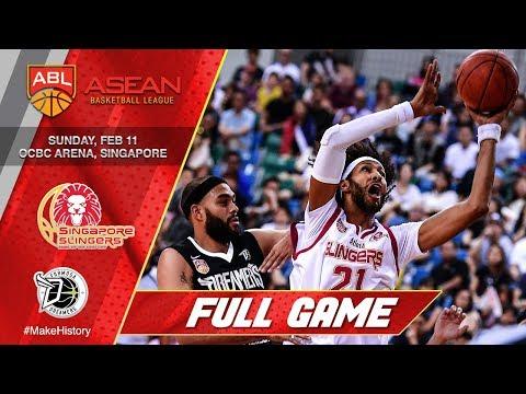 Singapore Slingers vs Formosa Dreamers | LIVESTREAM | 2017-2018 ASEAN Basketball League