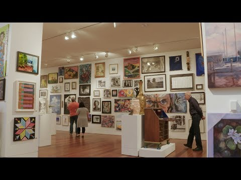 """State of the Art/Art of the State"" Exhibit at Cameron Art Museum"