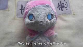 Set The Fire To The Third Bar - cover by hiding in a lie (duet with subtitles)