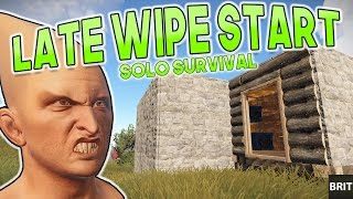 Rust Mid Wipe 4 MAN Survival | I Want To Try And Take The Chopper