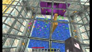 Minecraft Claysoldier Green vs Purple Round 01