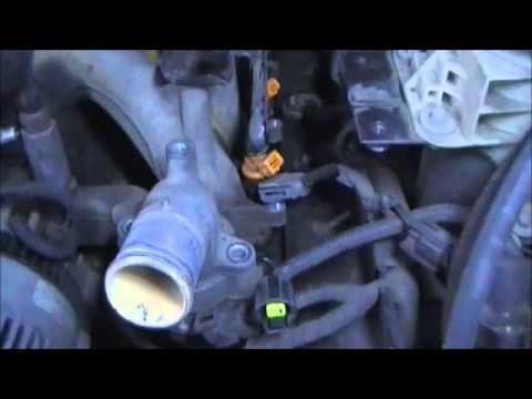 2000 expedition repair coolant leak from rear engine