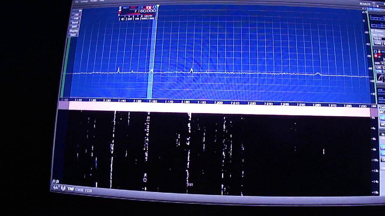 W6LVP Magnetic Loop Antenna - 40m Demonstration @ K6HR