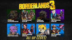 Borderlands 3 - All VIP Codes (Get Free Skins!)