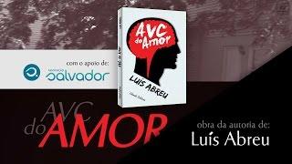 capa de AVC do Amor de Luís Abreu