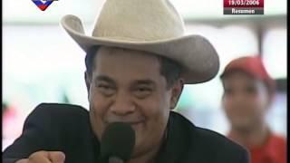 Aló Presidente en Elorza, Hugo Chávez canta con Cristóbal Jiménez, Reyna Lucero, Eneas Perdomo