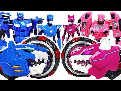 Miniforce X Volt, Lucy Selector! S ummon transform robots, Commando X Weapon! #DuDuPopTOY