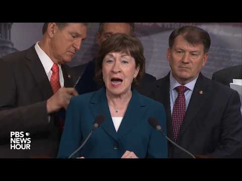 WATCH: Bipartisan group of senators discuss potential immigr