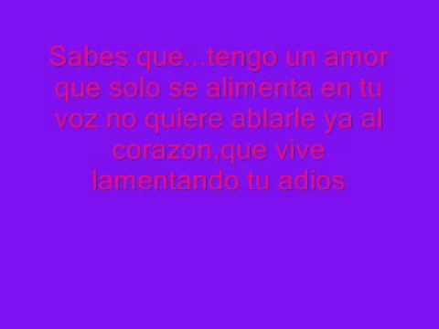 Rakim y Ken-Y feat.Toby Love-Tengo un Amor+lyrics