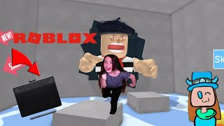 I ESCAPED THE EVIL ARTIST USING A DRAWING TABLET! (Roblox)