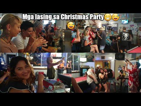 VLOG#19  Maagang Christmas Party    Filipina Diary