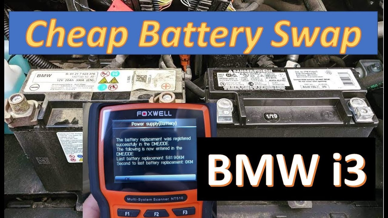 Bmw I3 Battery Upgrade >> Battery Replacement 12v Registration Guide Bmw I3