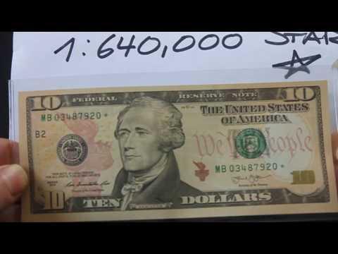 Low Print Run:  Ten Dollar Note Series 2013