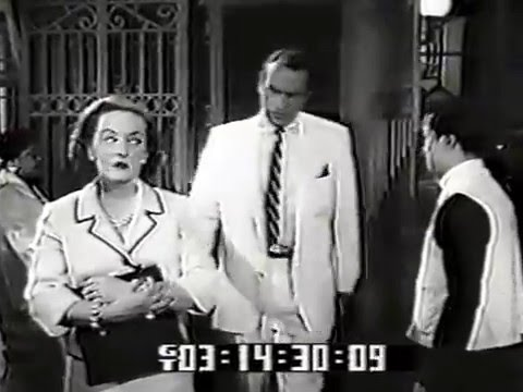 Bette Davis, Forrest Tucker, Leif Erickson--The Cold Touch, 1958 TV