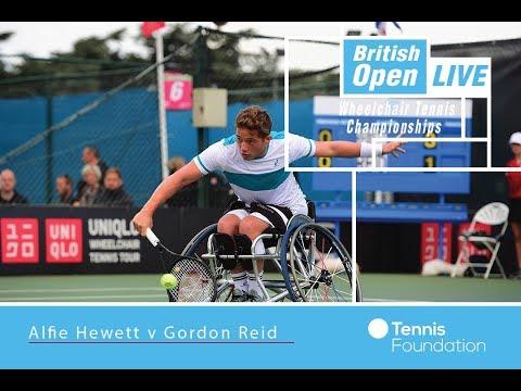 Alfie Hewett v Gordon Reid   British Open Wheelchair Tennis 2017