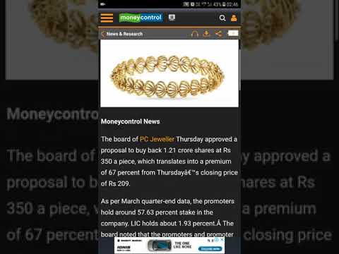 PC JEWELLERS BUY TARGET 400 KNOW THE REALITY OF PCJ