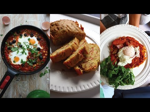 Brunch Recipes! Shakshouka, Tiropita & Sweet Potato Rosti | Mama Lotties