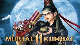 Mortal Kombat 11 - Bayonetta Teased as DLC!