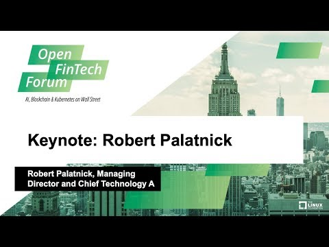 Keynote: Robert Palatnick, Managing Director and Chief Technology Architect, DTCC